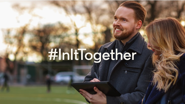 Linkedin 'In it together' campaign
